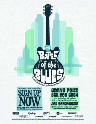guitar center launches sixth annual battle of the blues competition guitarworld. Black Bedroom Furniture Sets. Home Design Ideas