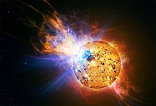 Tiny Star Unleashes Huge Explosion