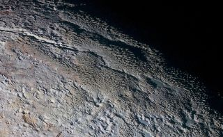 New Horizons View of Pluto's 'Bladed Terrain'
