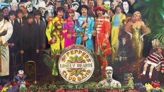 The Sgt Pepper cover
