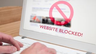 how to block a website in chrome