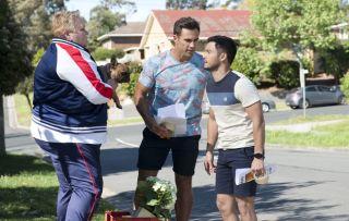 Neighbours, David Tanaka, Aaron Brennan, Vera Punt