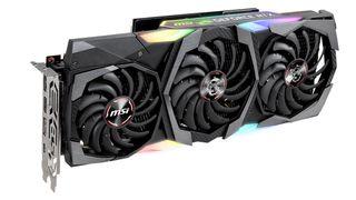 An MSI-branded GPU