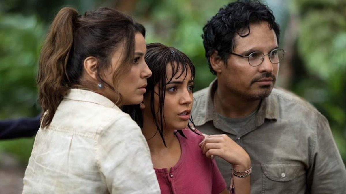 "Dora and the Lost City of Gold review: ""Isabela Moner's hilariously upbeat Dora is downright delightful"""