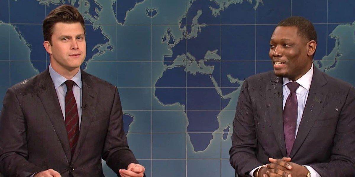Colin Jost and Michael Che on Saturday Night Live