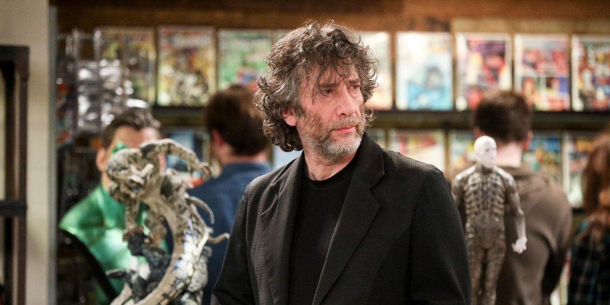 Neil Gaiman as himself on The Big Bang Theory