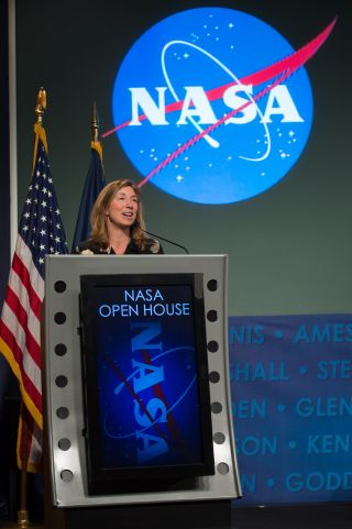 Obama Inauguration 2013 & NASA's Lori Garver
