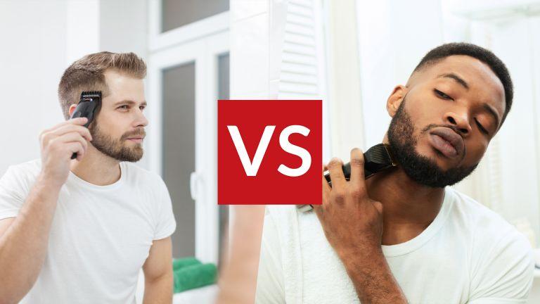 Hair clipper vs beard trimmer