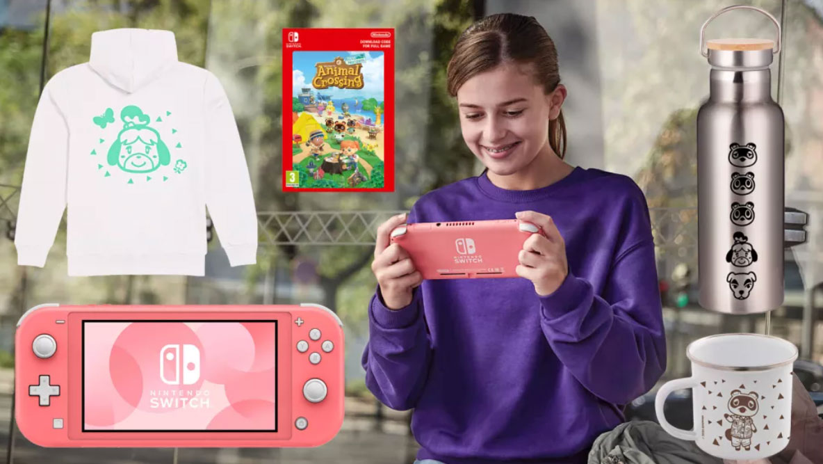 WIN a Nintendo Switch Lite and amazing Animal Crossing goodies