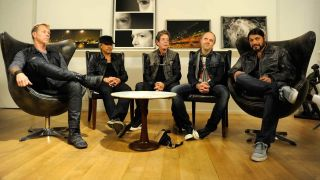 Metallica and Lou Reed at the Lulu listening party