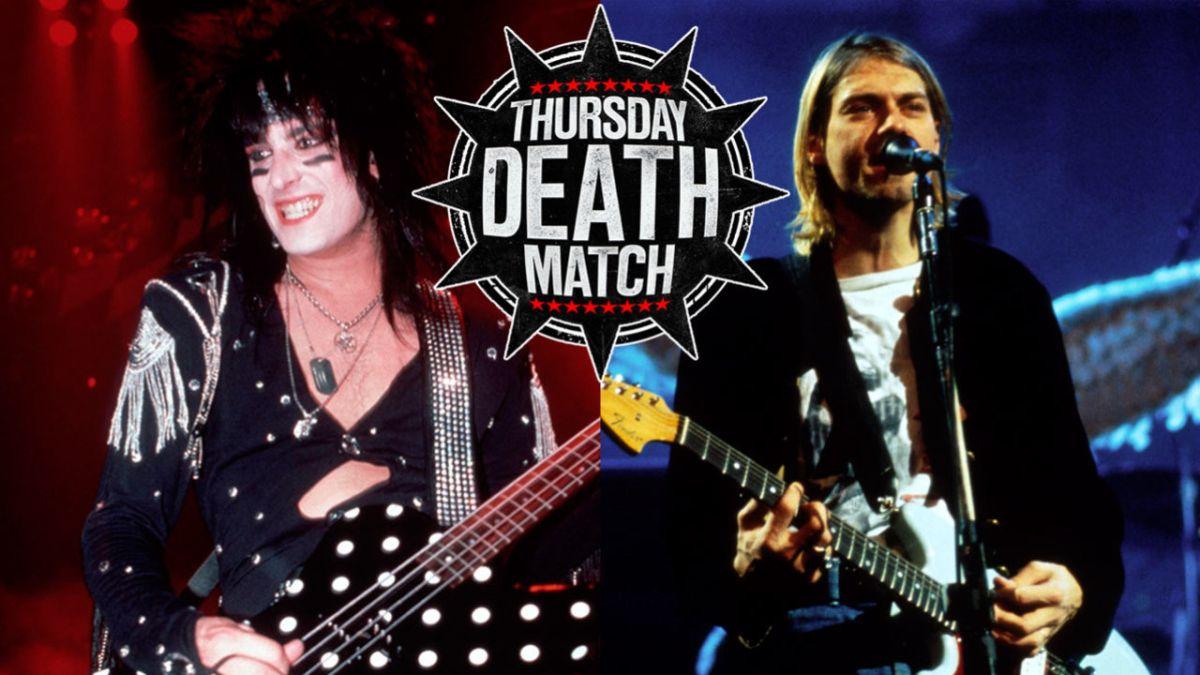 The Thursday Death Match Hair Metal Vs Grunge Louder