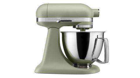 KitchenAid Artisan Mini stand mixer review: image of mixer side on