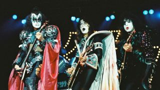 Kiss onstage in 1980