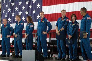 Endeavour's Crew Returns Home To Houston
