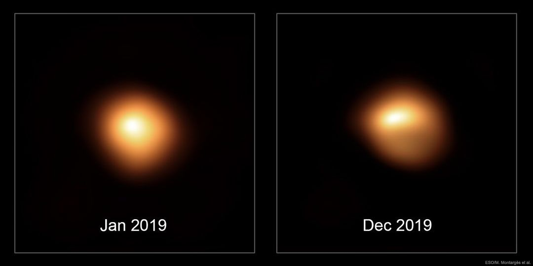 Scientists still stuck on Betelgeuse antics a year after strange dimming episode