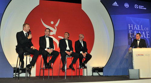 Sir Chris Hoy, Chris Boardman, British Cycling Hall of Fame, Gala Dinner 2010