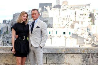 James Bond star Daniel Craig on set of No Time To Die