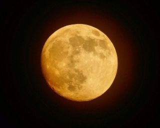 Supermoon Over Pennsylvania