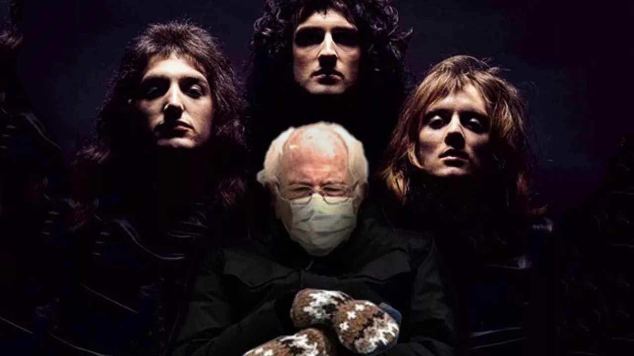 Bernie Sanders Plus Classic Rock And Metal Album Artwork Equals Internet Gold Louder