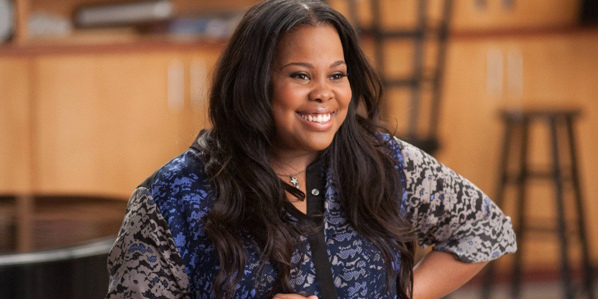 Amber Riley as Mercedes in Glee