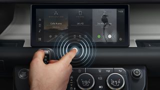 Jaguar Land Rover Predictive Touch