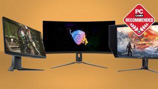 High refresh rate gaming monitors