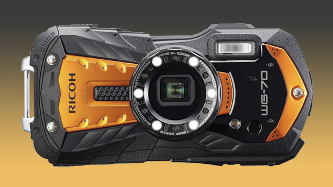 Ricoh WG-70 all-weather camera leaks!