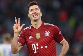 Robert Lewnadowski, Champions League betting odds