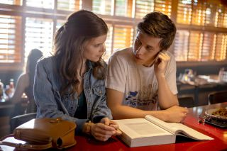 Pictured: (l-r) Kate Mara as Claire Walker, Nick Robinson as Eric Walker.