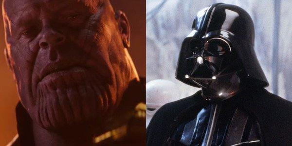 Thanos and Darth Vader