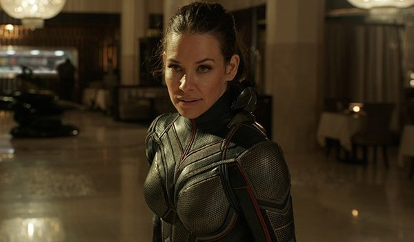 Evangeline Lilly as The Wasp in the MCU
