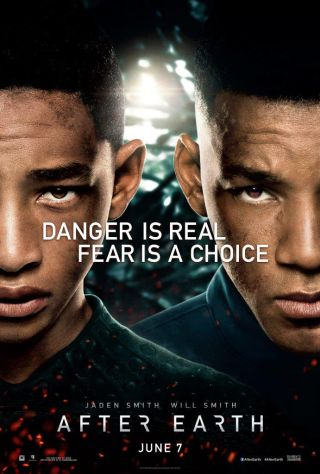 'After Earth' Starring Jaden and Will Smith