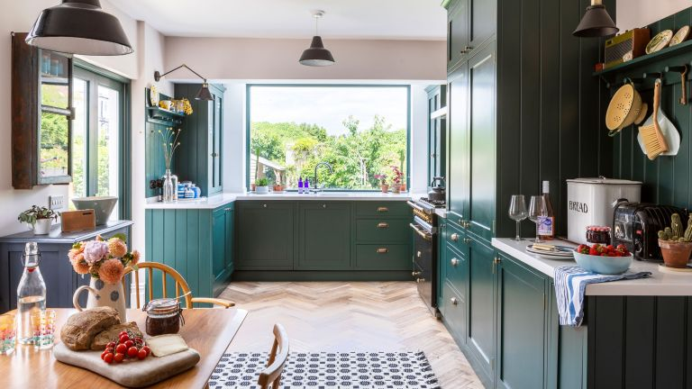 Rhiannon Southwell's green Shaker kitchen was the final part of the project to update a Victorian home