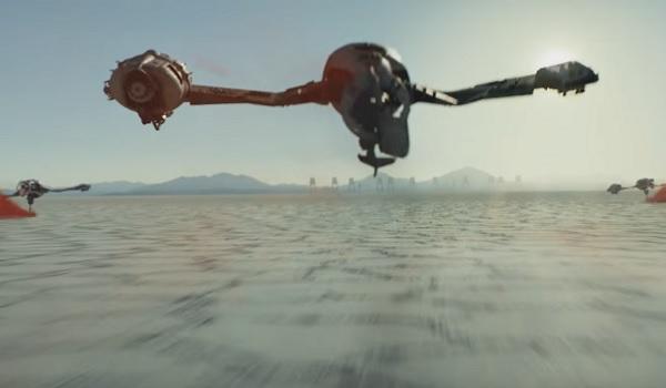 Star Wars: The Last Jedi Racing Craft
