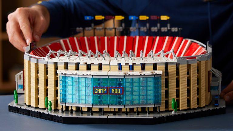 Lego Camp Nou set