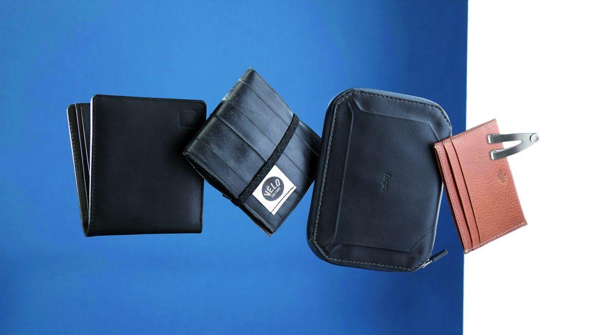 New 2019 Unisex Leather Card Wallet Multi Credit Cards Cash Slip Card Wallet