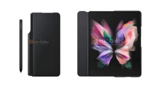 Samsung Galaxy Z Fold 3 leaked renders appear to show the new S Pen stylus revealed in a new Samsung blog post