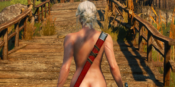 Skins The witcher nude