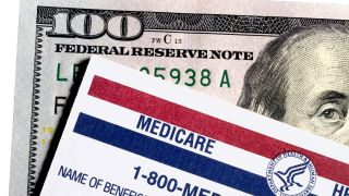 Medciare and dollar bill