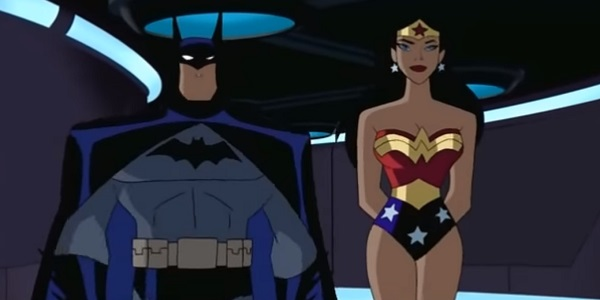 Batman and Wonder Woman Kevin Conroy and Susan Eisenberg Justice League Cartoon Network
