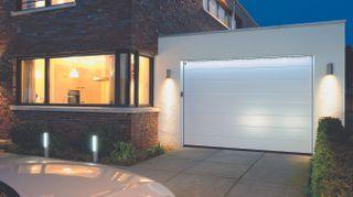 sectional garage door from Hormann