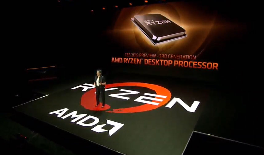 AMD teases third-gen Ryzen processor performance ahead of mid-2019