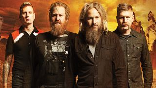 Mastodon band photo