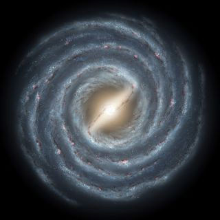 Artist's Depiction of Milky Way