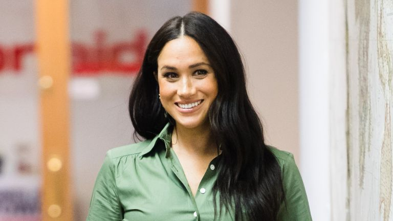 Meghan Markle, Duchess of Sussex visits ActionAid during the royal tour of South Africa on October 01, 2019 in Johannesburg, South Africa