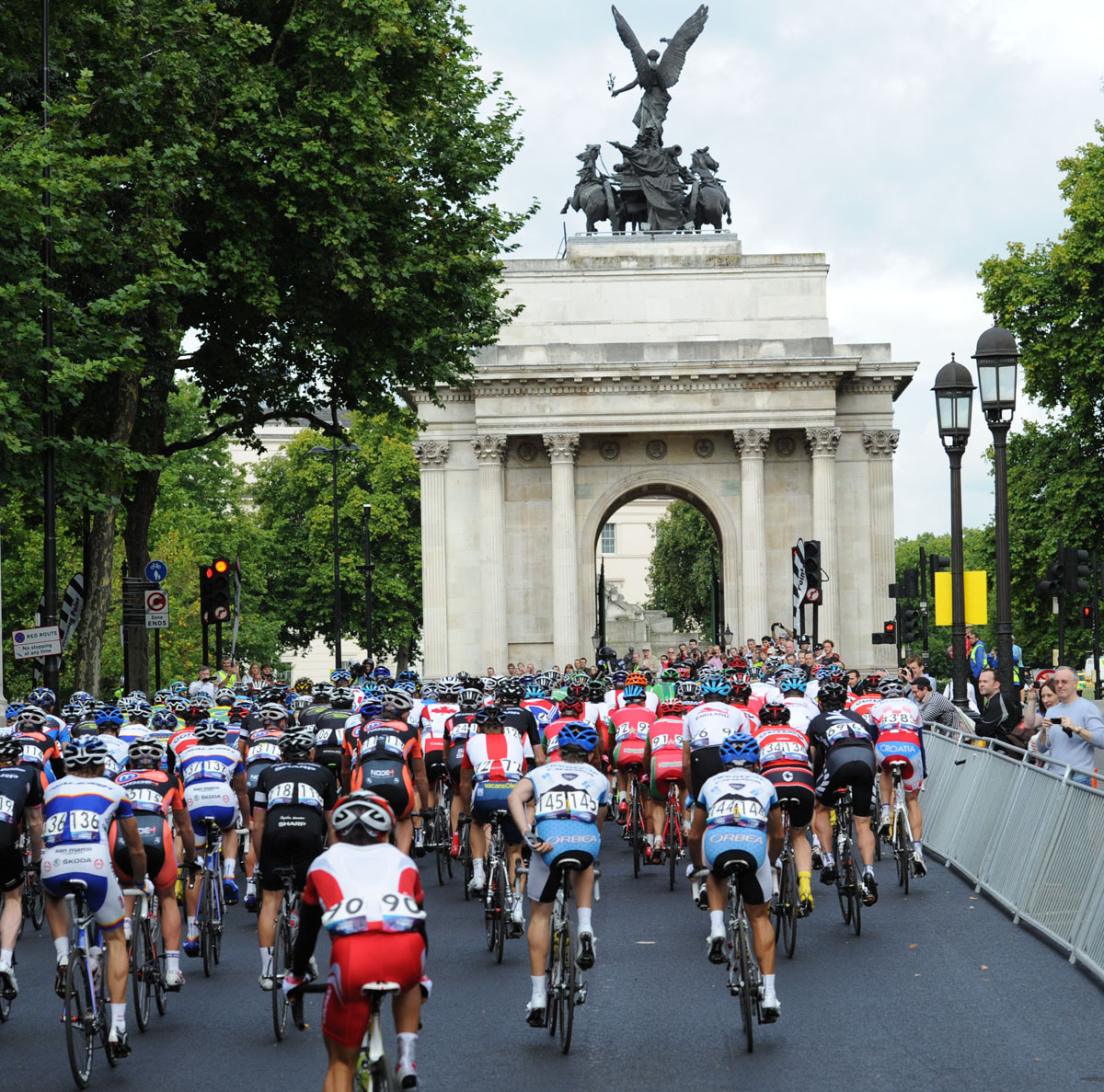 Wellington Arch, London-Surrey Cycle Classic 2011