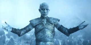 The Night King arrives in HBO's Game of Thrones