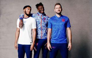 England shirt 2020-2021, Harry Kane, Tammy Abraham, Joe Gomez