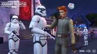 The Sims 4 Star Wars Batuu