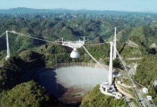 arecibo observatory damage